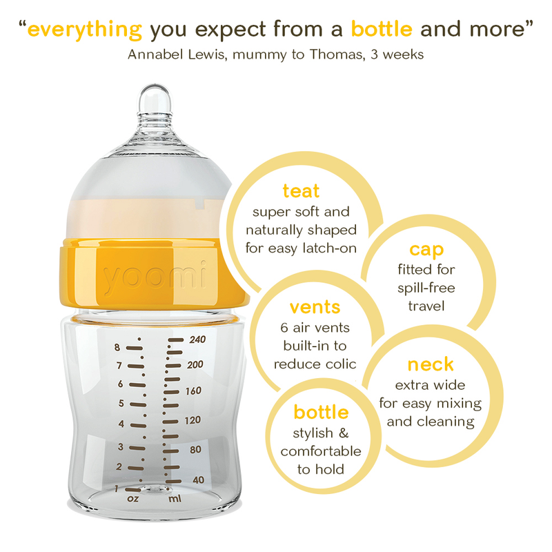 bottle feeding starter set