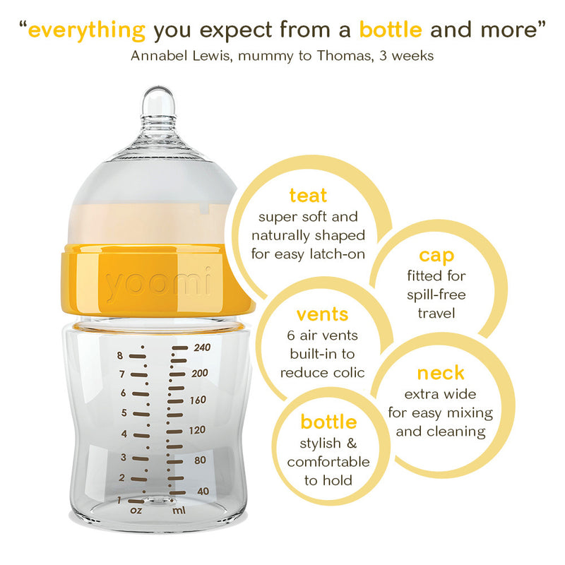 self-warming bottle with double warmer