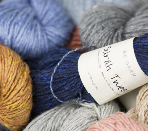 A few skeins of BC Garn Sarah Tweed