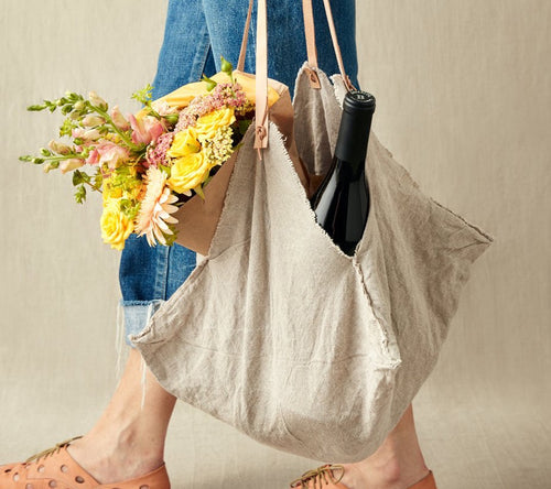 Cocoknits Linen Cloth Bag Medium