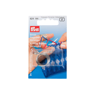 A package containing a Prym Norwegian Knitting Thimble