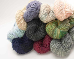 10 skeins of Artyarns Cashmere Eco