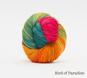 A ball of RCY Adam & Eve in Bird of Paradise