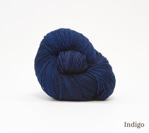 A ball of RCY Adam & Eve in Indigo