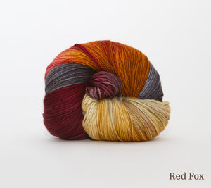 A ball of RCY Adam & Eve in Red Fox