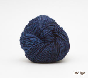 A ball of RCY Eden in Indigo