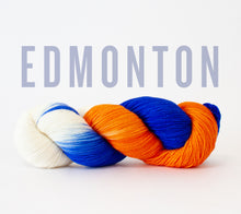 Load image into Gallery viewer, A skein of RCY Hat Trick in Edmonton