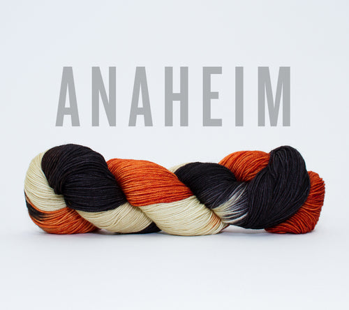 A skein of RCY Hat Trick in Anaheim