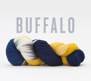 A skein of RCY Hat Trick in Buffalo