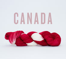 Load image into Gallery viewer, A skein of RCY Hat Trick in Canada
