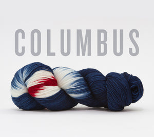 A skein of RCY Hat Trick in Columbus