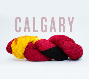 A skein of RCY Hat Trick in Calgary