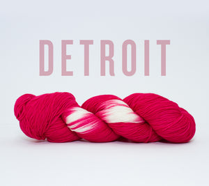 A skein of RCY Hat Trick in Detroit