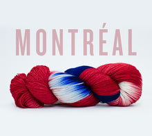 Load image into Gallery viewer, A skein of RCY Hat Trick in Montreal