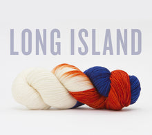 Load image into Gallery viewer, A skein of RCY Hat Trick in Long Island
