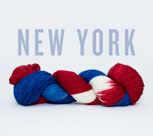 A skein of RCY Hat Trick in New York