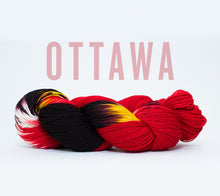 Load image into Gallery viewer, A skein of RCY Hat Trick in Ottawa