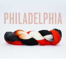 Load image into Gallery viewer, A skein of RCY Hat Trick in Philadelphia