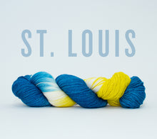 Load image into Gallery viewer, A skein of RCY Hat Trick in St. Louis