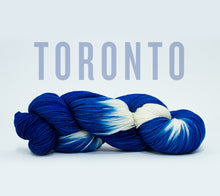 Load image into Gallery viewer, A skein of RCY Hat Trick in Toronto
