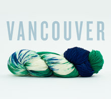 Load image into Gallery viewer, A skein of RCY Hat Trick in Vancouver
