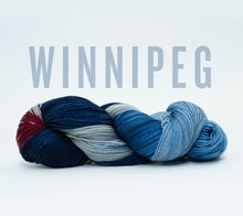 Load image into Gallery viewer, A skein of RCY Hat Trick in Winnipeg
