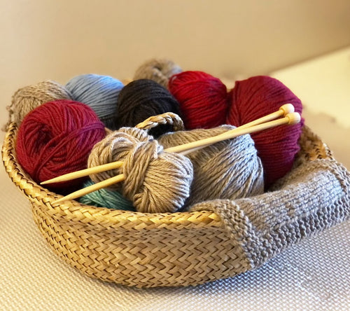Learn to Knit! Online Workshop