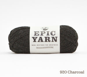 A ball of Epic Yarn in 920 Charcoal