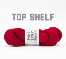 Load image into Gallery viewer, A skein of RCY Hat Trick Semi-Solid in Top Shelf