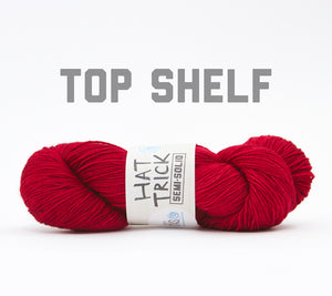 A skein of RCY Hat Trick Semi-Solid in Top Shelf