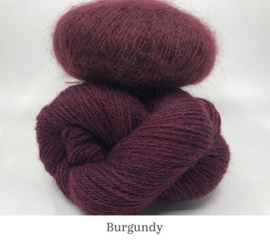 Boredom Buster: Annabella's Cowl in Burgundy