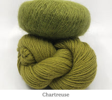 Load image into Gallery viewer, Boredom Buster: Annabella's Cowl in Chartreuse