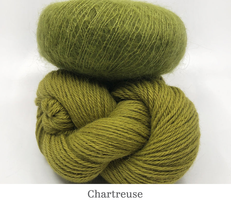 Boredom Buster: Annabella's Cowl in Chartreuse