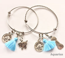 Load image into Gallery viewer, Anurain Zodiac Bracelets Aquarius