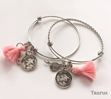 Load image into Gallery viewer, Anurain Zodiac Bracelets Taurus