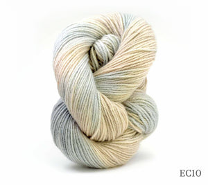A skein of Artyarns Cashmere Eco in EC10