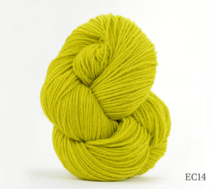 A skein of Artyarns Cashmere Eco in EC14