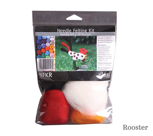 A package of Ashford Needle Felting Kit 3D Rooster
