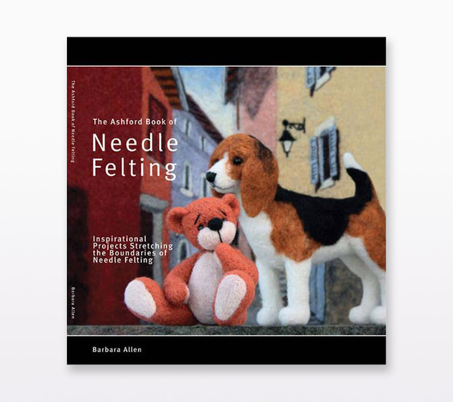 Book cover of The Ashford Book of Needle Felting