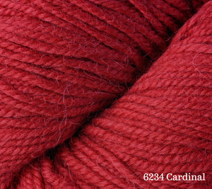 A close up of Berroco Ultra Alpaca in 6234 Cardinal