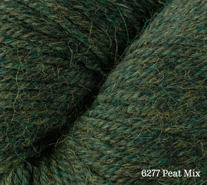 A close up of Berroco Ultra Alpaca in 6277 Peat Mix