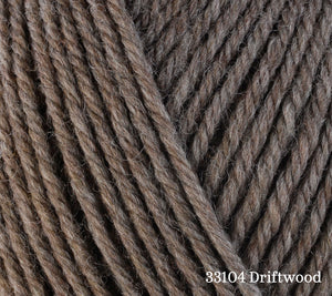 A close up of Berroco Ultra Wool in 33104 Driftwood