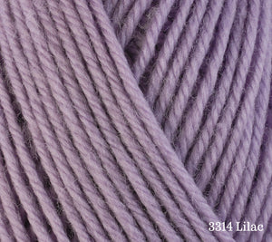 A close up of Berroco Ultra Wool in 3314 Lilac