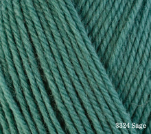 Load image into Gallery viewer, A close up of Berroco Ultra Wool in 3324 Sage