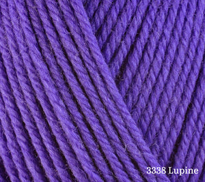 A close up of Berroco Ultra Wool in 3338 Lupine