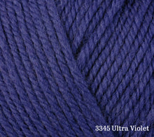 Load image into Gallery viewer, A close up of Berroco Ultra Wool in 3345 Ultra Violet
