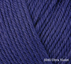 A close up of Berroco Ultra Wool in 3345 Ultra Violet