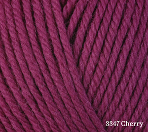 A close up of Berroco Ultra Wool in 3347 Cherry