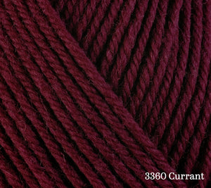 A close up of Berroco Ultra Wool in 3360 Currant