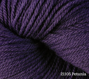 A close up of Berroco Vintage DK in 21105 Petunia